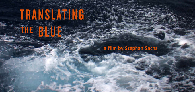 """translating the blue"" von Stephan Sachs"