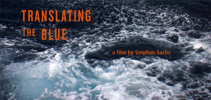 """translating the blue"" von Stephan Sachs"